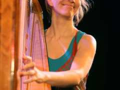 photo de Harpe jazz avec Isabelle Olivier
