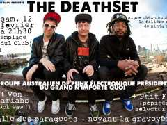 photo de The Death Set + Von Pariahs + Ptit Fat