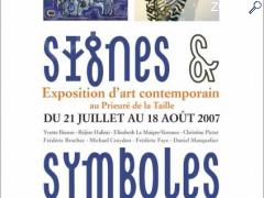 photo de Signes & Symboles - Exposition d'art contemporain