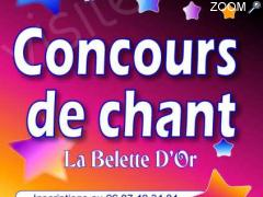 photo de Concours de chant la belette d or