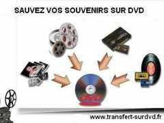 photo de Transfert de films 8mm, vidéos et photos sur Dvd ou Cd