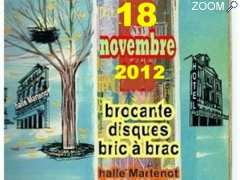 picture of 18 novembre 12 - brocante - disques - bric à brac