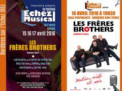"photo de Le Festival ""L'Echez Musical"" invite les Frères Brothers !"