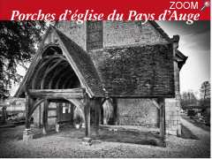 "photo de Exposition ""Porches d'Eglises du pays d'Auge"""