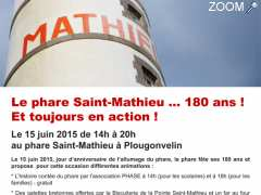 photo de Le phare Saint-Mathieu … 180 ans ! Et toujours en action !