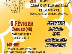 photo de Bal avec Dario & Manuel Big band et La Talvera