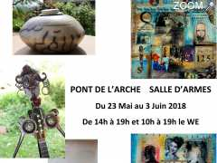 Foto Exposition Sculpture - Collage Painting
